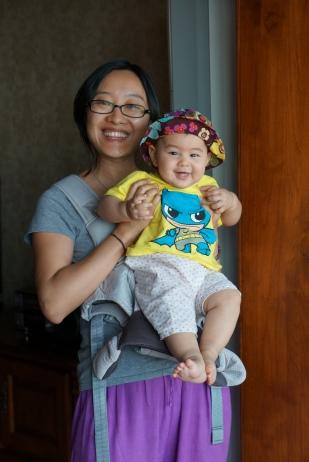 Liu Yan and Mina